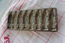 Moule chocolatier letang poissons ancien N2