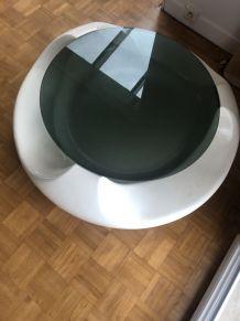 Table basse design année 70