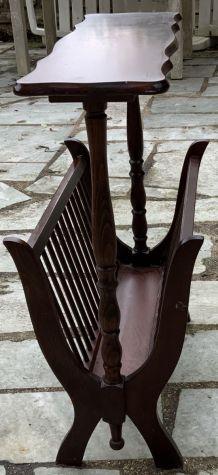 Porte Revues vintage bois