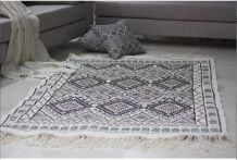 Tapis kilim berbère fait main en laine
