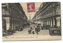 CPA - Paris (75001) Perspective de la Rue de Castiglione