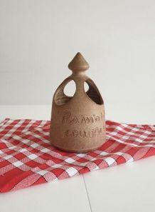 Pot cuisine ramasse couverts - égouttoir ustensiles vintage