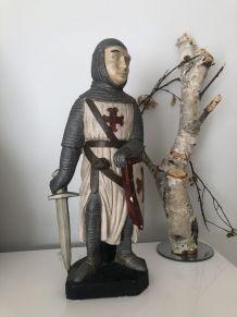 Statue de chevalier médiéval 40 cm