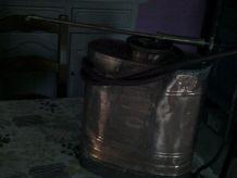 pulverisateur en cuivre  vermorel eclaire année 1950