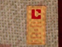 plaque en etain blason de la commune de floirac