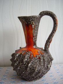 Ancien grand vase signé