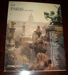 """Livre grand format broché -""""Paris des poètes"""" par Izis"""
