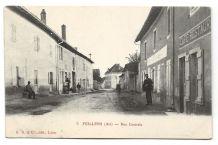 CPA - Feillens (01) Rue Centrale