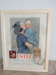 Ancienne publicité Vintage