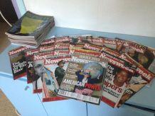 LOT DE 64 NEWSWEEK ANNEES 2002 ET 2003 -