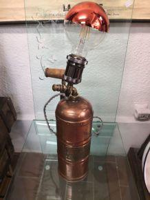 Lampe pulvérisateur industriel en cuivre