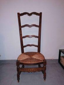 chaise de nourrice ancienne provencal