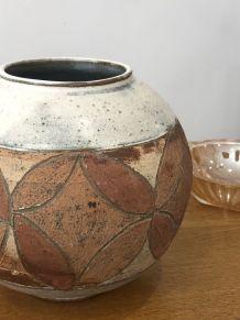 Pot ceramique vintage