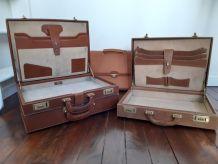 Lot attaché-case LANCEL