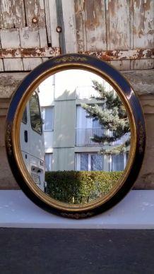 miroir ovale époque xix