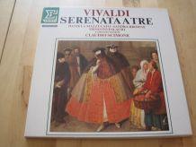 Coffret vinyles 2 disques 33 tours Vivaldi  Serenataatre