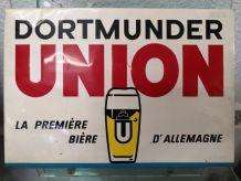 Plaque publicitaire marque de bière Allemande