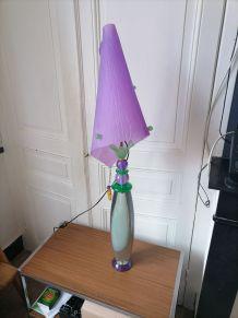 Lampe Résine et Plexi Edition Formes et Volumes Design 110cm