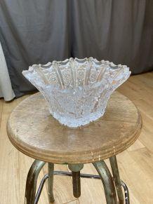 Coupe verre sculptée