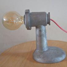 Lampe vintage hachoir