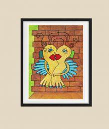 Affiche poster pour décoration murale Amour amoureux.