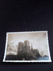 Photo ancienne de Notre Dame de Paris
