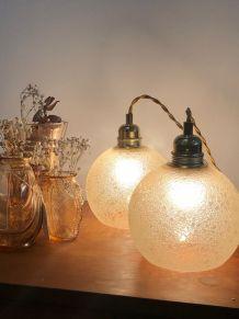 Paire de lampes baladeuses vintage années 70