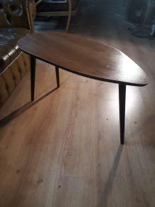 table basse asymétrique   tres jolie(forme libre) 1960 a 70