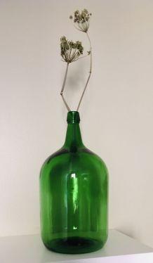 Bonbonne ancienne verre