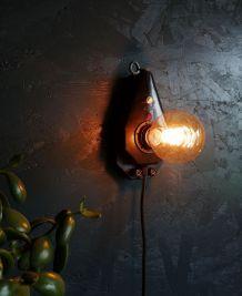 """Applique vintage, lampe murale """"La Survoltée"""""""