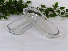 2 coupelles raviers en verre