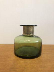 Vase vert vintage