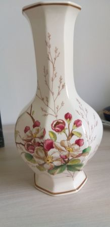 Vase Porcelaine Villeroy et Boch Portobello floral