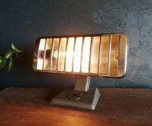 "Lampe vintage, lampe industrielle ""Thermor Gris"""