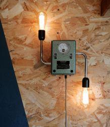 """Lampe murale industrielle, Applique vintage - """"Le Révolté"""""""