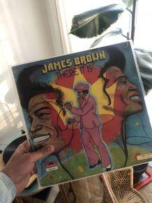 Vinyle vintage James Brown «There it is» de 1972