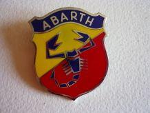 ancien logo de voiture fiat abarth original