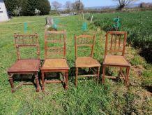 Anciennes chaises à relooker