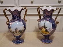 Paire de vaseS Italien style GUALDO TADINO