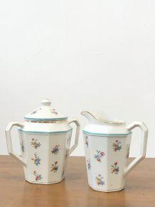 Ensemble porcelaine vintage