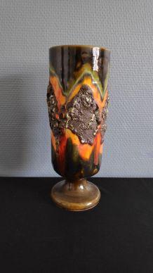 vase lave en céramique des années 60