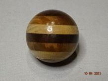 Boule vintage de levier de vitesse bois multicolore 4
