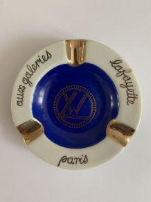 Cendrier en porcelaine de Limoges pour les Wagons-Lits (WL)