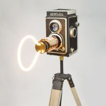 Gaston Semflex - Lampe Vintage