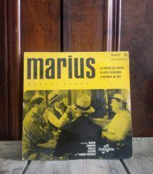 45 tours Marius de Marcel Pagnol (1957)