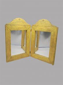 Miroir 2 pans