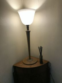 "Lampe Mazda ""tulipe"" Art déco années 20/30"