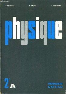 Physique - Classe de Deuxieme A - Programme 1966 -
