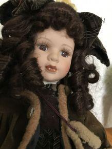 """"""" Alice """" poupée en porcelaine"""