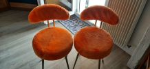Paire chaise pelfran